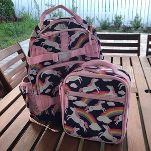 Pottery Barn Kids backpack and lunchbox